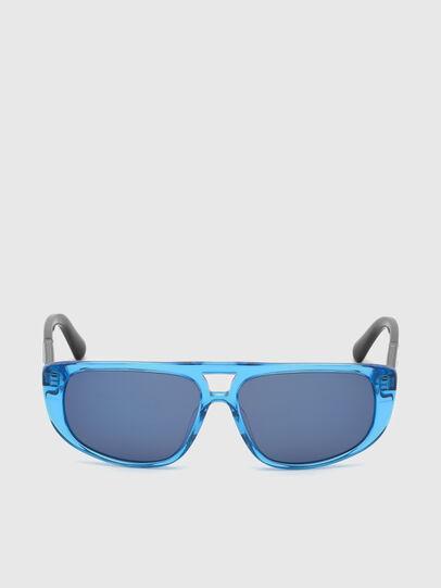 Diesel - DL0306, Blue/Black - Kid Eyewear - Image 1
