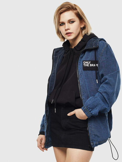 Diesel - J-HEADIN, Blue - Jackets - Image 2