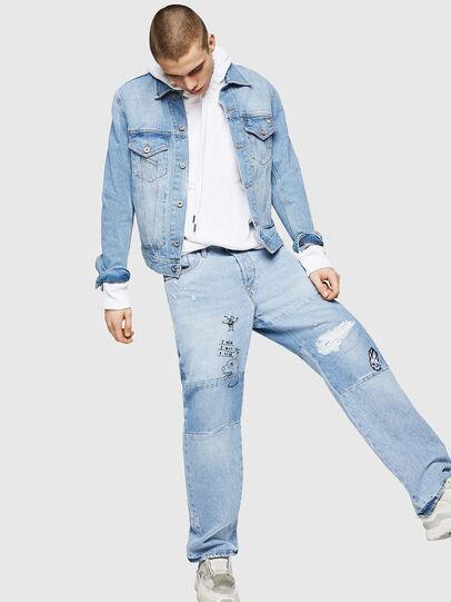 Diesel - D-Kodeck 0078F, Light Blue - Jeans - Image 6