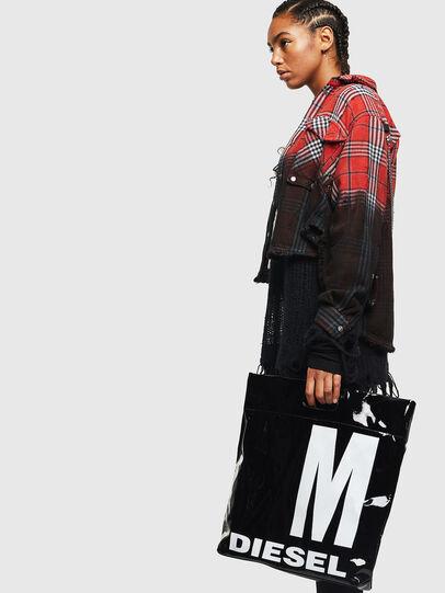 Diesel - F-LITT-HER M, Black - Shopping and Shoulder Bags - Image 6
