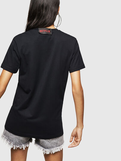 Diesel - LCP-T-DIEGO-MARSELLA, Black - T-Shirts - Image 5