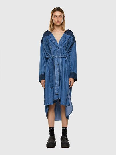 Diesel - DE-NIAVY, Light Blue - Dresses - Image 6