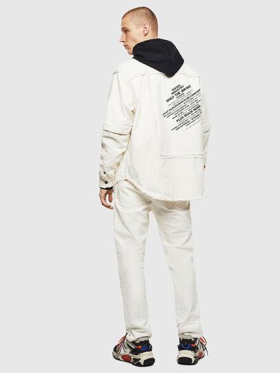 Diesel - D-KURTIS, White - Denim Shirts - Image 7