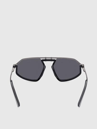 Diesel - DL0345, Black - Sunglasses - Image 4