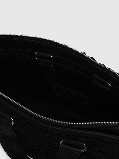 Diesel - THISBAG SATCHEL HP, Black - Bags - Image 5