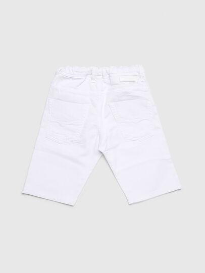 Diesel - KROOLEY-NE-J SH-T JJ, White - Shorts - Image 2