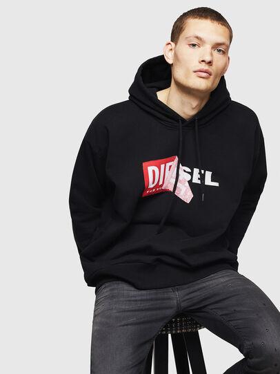 Diesel - S-ALBY, Black - Sweaters - Image 4