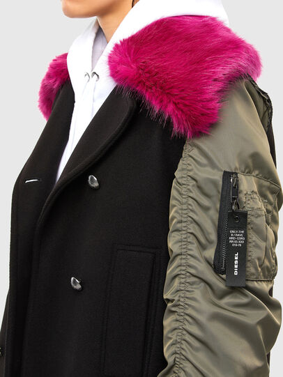 Diesel - W-AMARAL, Black - Winter Jackets - Image 4
