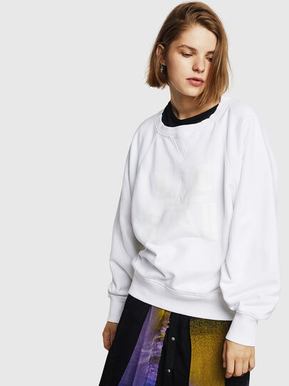 Diesel - F-HENNY-D, White - Sweaters - Image 1