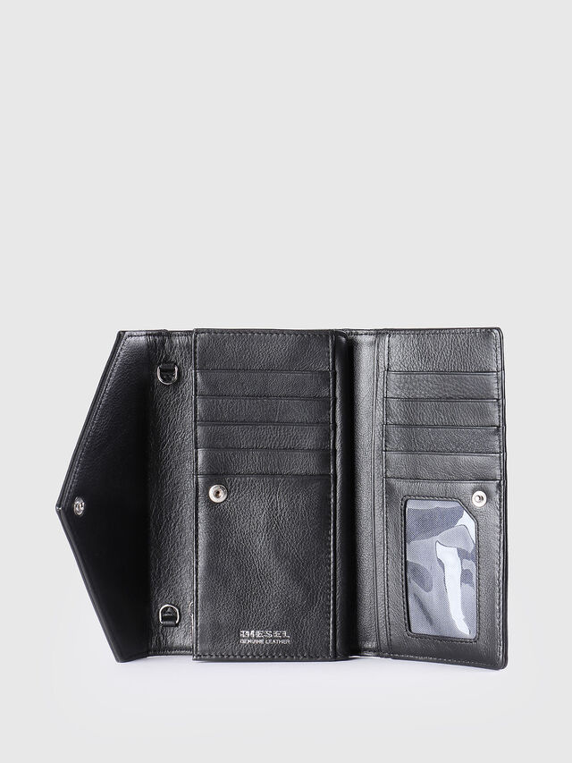 Diesel GIPSI, Black - Small Wallets - Image 3
