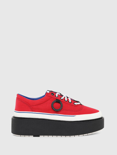 Diesel - H-SCIROCCO LOW, Fire Red - Sneakers - Image 1