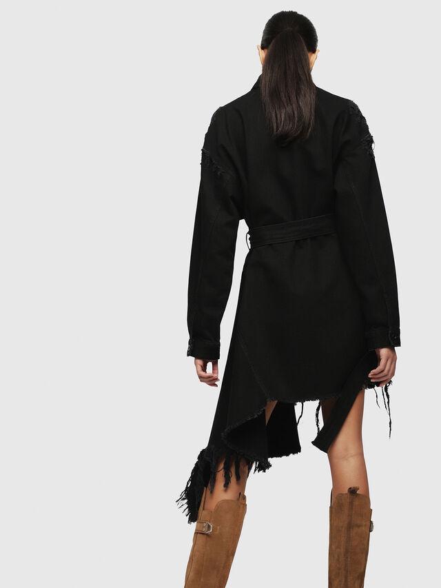 Diesel - DE-PEONY, Black - Dresses - Image 2