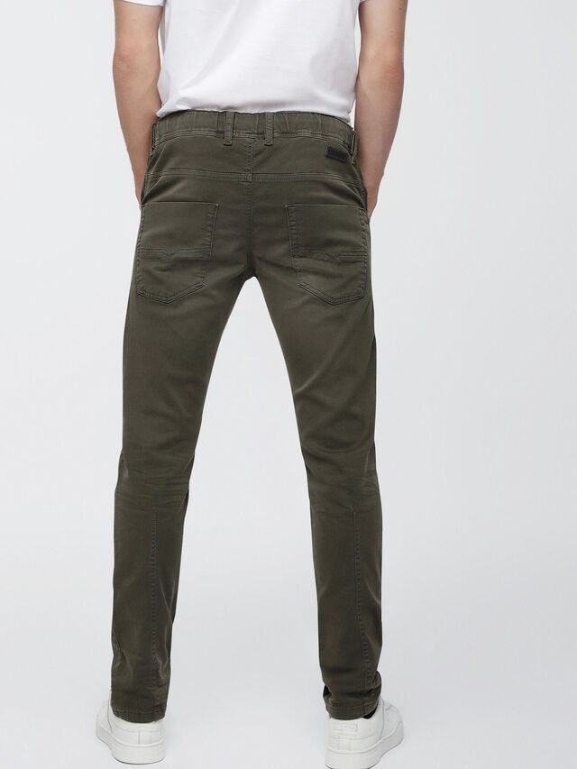 Diesel Krooley JoggJeans 0670M, Military Green - Jeans - Image 2