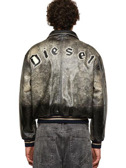Diesel - DxD-2, Black - Leather jackets - Image 2