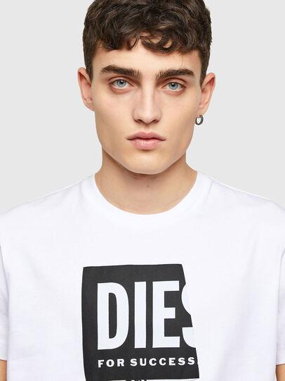 Diesel - T-DIEGOS-LAB, White - T-Shirts - Image 3