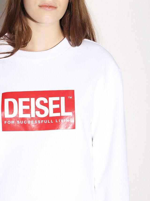 Diesel - DEIS-SGIRO, White - Sweaters - Image 8