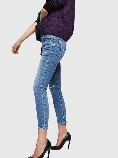 Diesel - Krailey JoggJeans 069IH, Light Blue - Jeans - Image 3