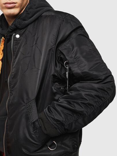 Diesel - J-ROSS-REV, Black - Jackets - Image 8