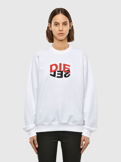 Diesel - F-ANG-V41, White - Sweaters - Image 1