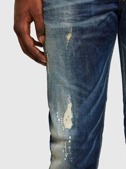 Diesel - Sleenker 0097L, Dark Blue - Jeans - Image 5