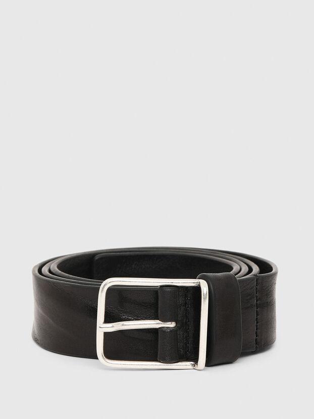 B-SILVER, Black - Belts