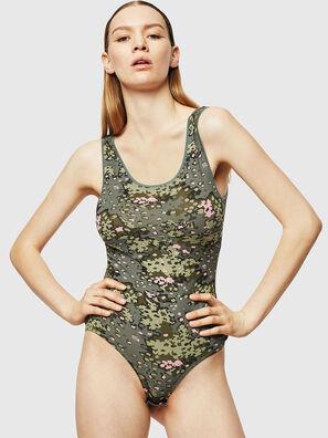 UFTK-BODY, Olive Green - Bodysuits