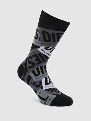 SKM-HERMINE, Black/Grey - Socks