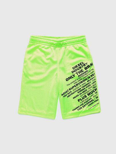 Diesel - PFRAKLE, Green Fluo - Shorts - Image 1