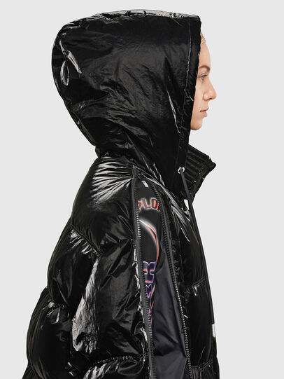 Diesel - W-DERK, Black - Winter Jackets - Image 3