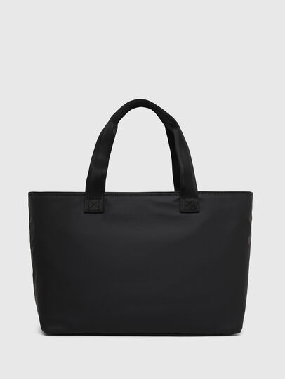 Diesel - F-BOLD SHOPPER III, Black - Shopping and Shoulder Bags - Image 2
