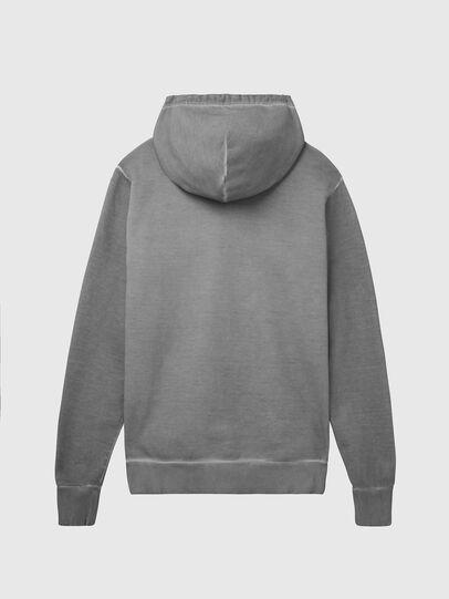 Diesel - S-GIR-HOOD-DIVISION-, Grey - Sweaters - Image 2