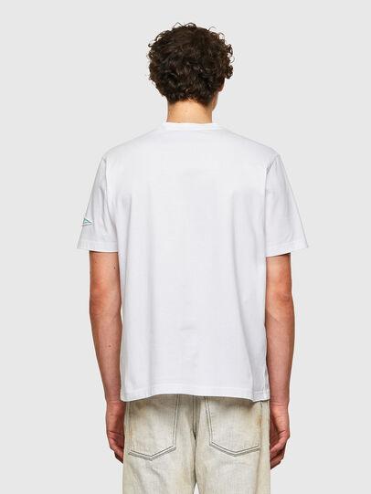 Diesel - T-JUST-B61, White - T-Shirts - Image 3