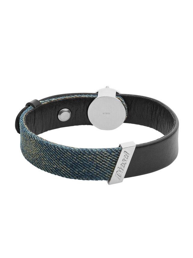 Diesel BRACELET DX1029, Blue Jeans - Bracelets - Image 1