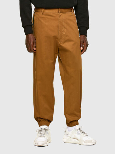 Diesel - P-LEVOS, Brown - Pants - Image 1