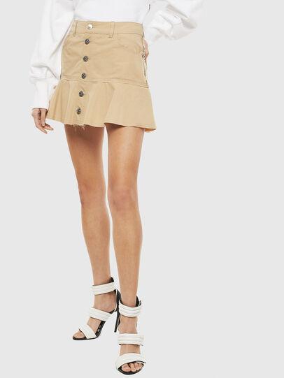 Diesel - O-BETH, Beige - Skirts - Image 1