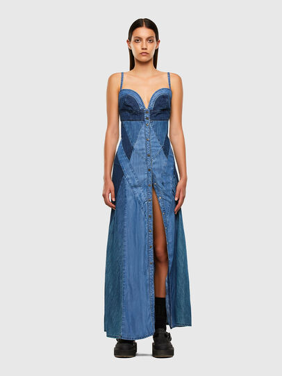 Diesel - DE-ARYNA, Light Blue - Dresses - Image 7
