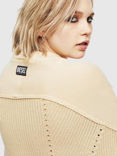 Diesel - M-SUNNY, Beige - Knitwear - Image 5
