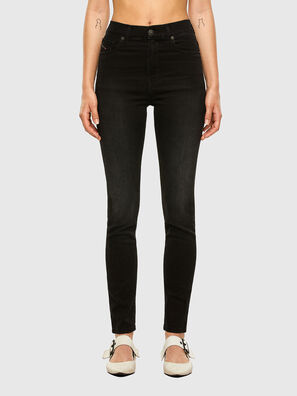 D-Roisin High 069MZ, Black/Dark grey - Jeans