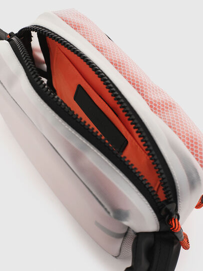 Diesel - FAROH, White/Orange - Crossbody Bags - Image 6
