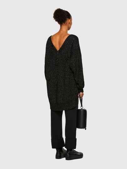Diesel - M-CORAL, Black - Knitwear - Image 6