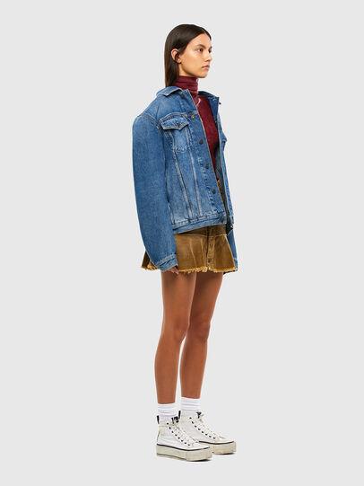 Diesel - O-BETH-C, Light Brown - Skirts - Image 6