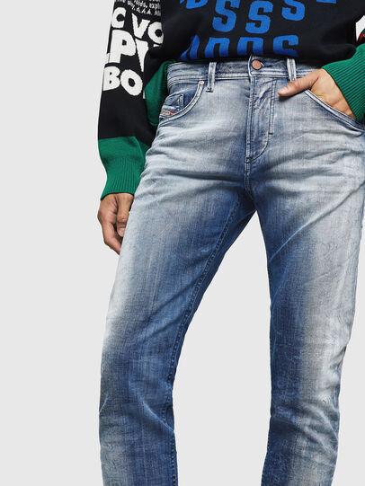 Diesel - Thommer JoggJeans 0870N, Medium blue - Jeans - Image 3