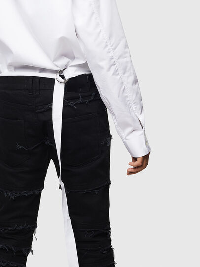 Diesel - S-PATCH-P, White - Shirts - Image 4