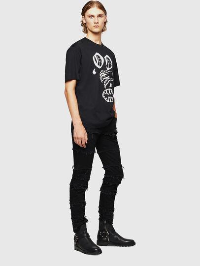 Diesel - TEORIALE-X2, Black - T-Shirts - Image 6