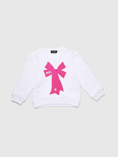 Diesel - SASHIAB-R, White - Sweaters - Image 1