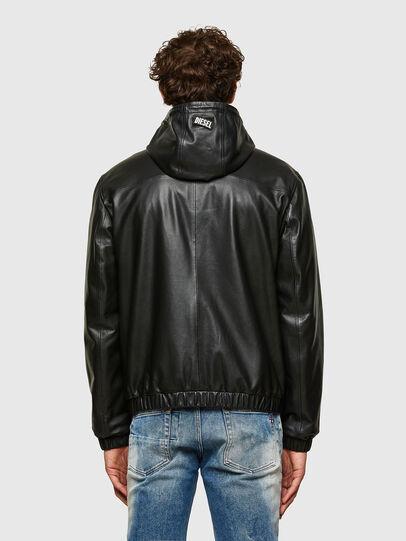 Diesel - L-CIRCLE, Black - Leather jackets - Image 2