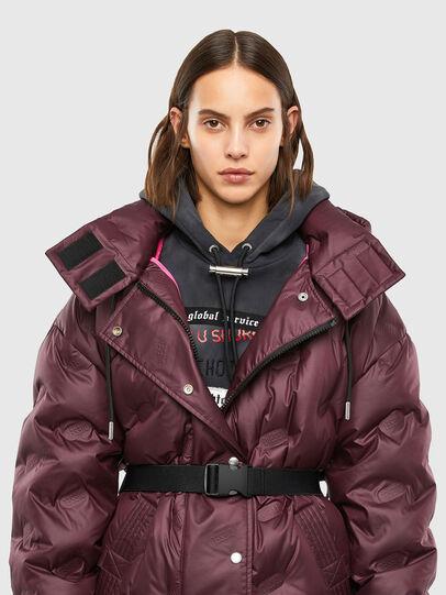 Diesel - W-LALLA, Violet - Winter Jackets - Image 3