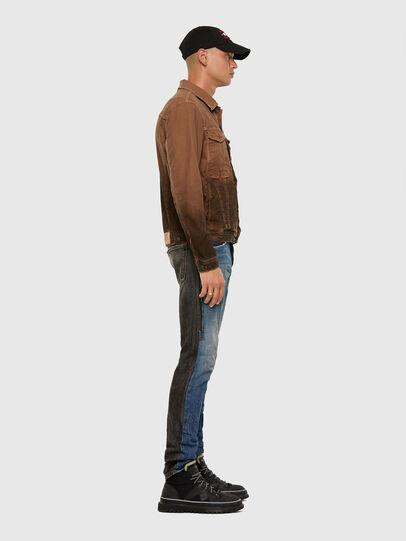 Diesel - D-Kras 009EA, Black/Dark grey - Jeans - Image 8