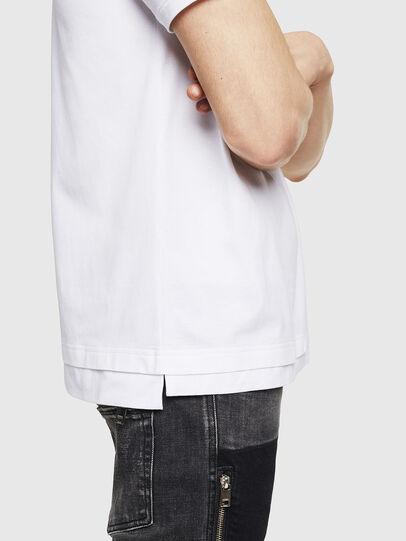 Diesel - T-CHERUBIK-NEW, White - T-Shirts - Image 4