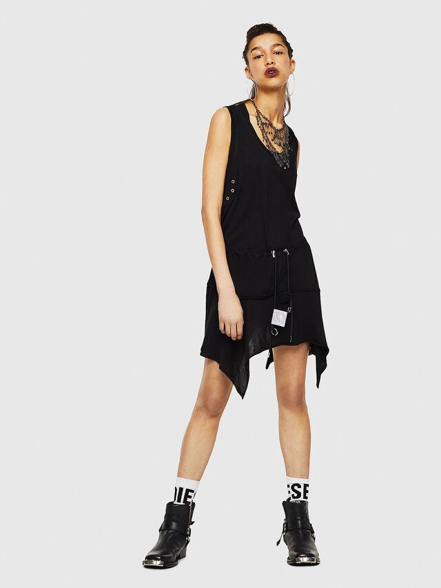 Diesel - D-SLOAN, Black - Dresses - Image 4